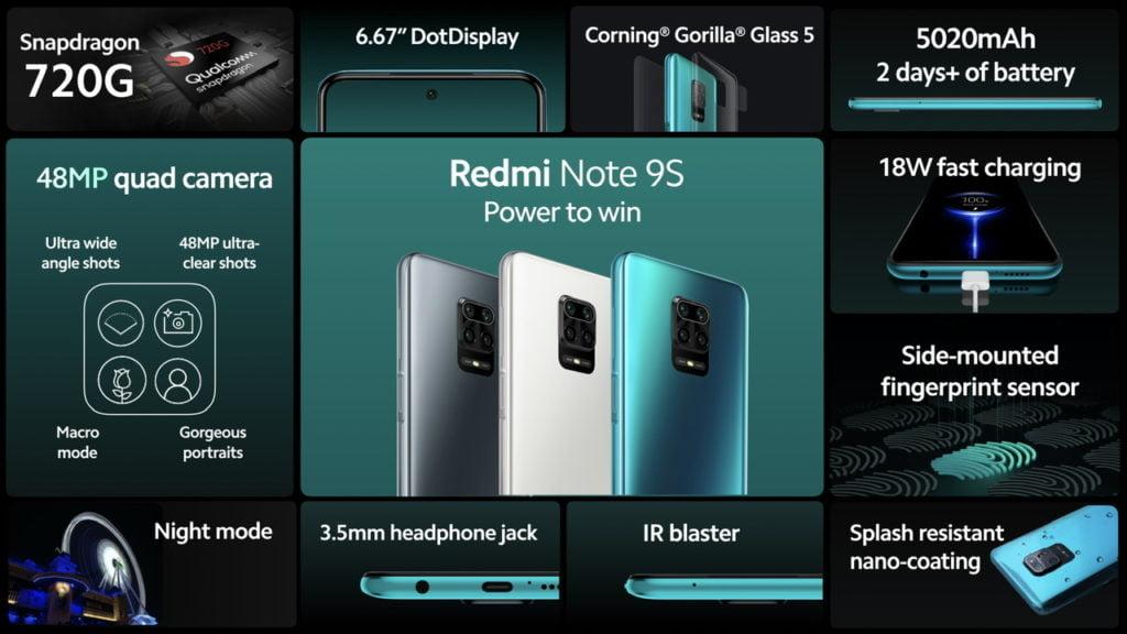 xiaomi redmi note 9s full specifications, xiaomi redmi note 9s price