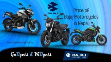 Price of Bajaj Motorcycles in Nepal