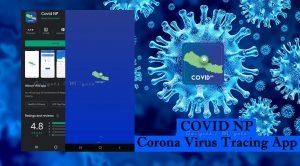 COVID NP, COVIDNP, Corono virus trace app