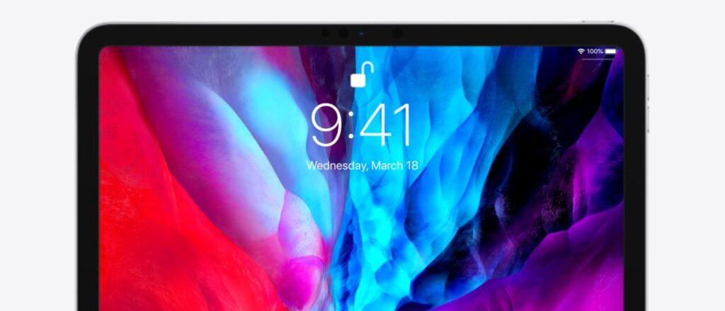 apple ipad pro 2020 front camera, apple ipad pro 2020 display