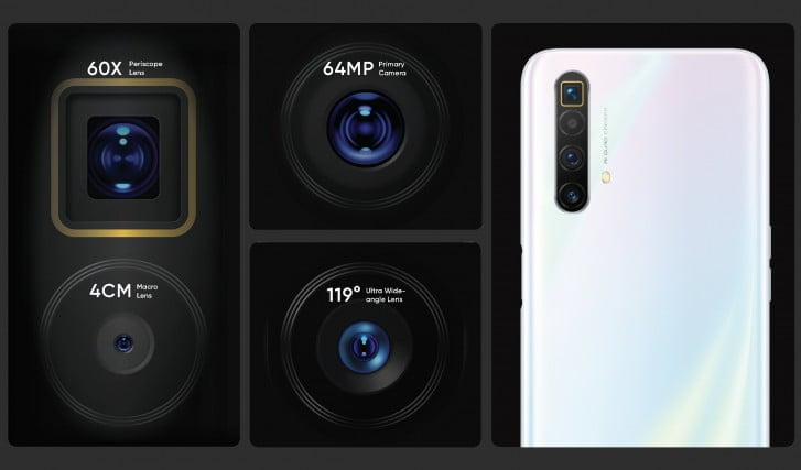 Realme X3 SuperZoom Camera