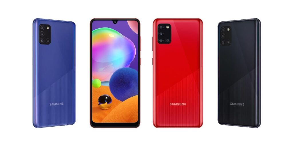 galaxy a31 colors, color variants of galaxy a31, samsung galaxy a31 price in nepal