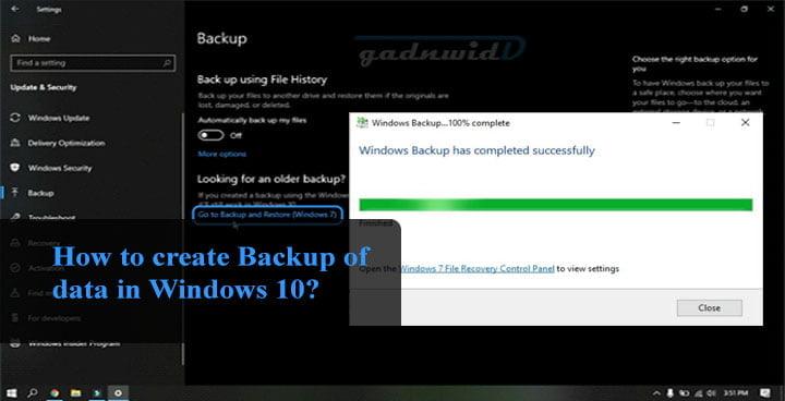 schedule system backup windows 10. back up data on windows, windows data backup