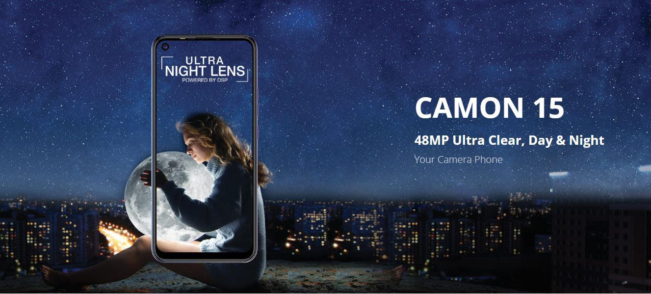 Tecno Camon 15 price in Nepal