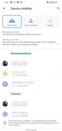 google nearby share 3
