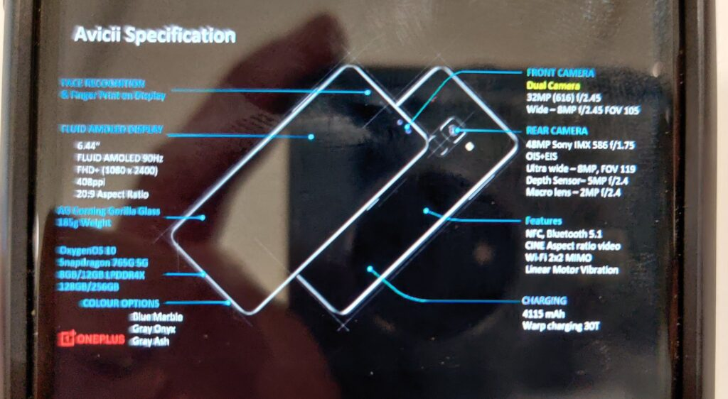oneplus nord specs leaked, full specifications leaked of nord