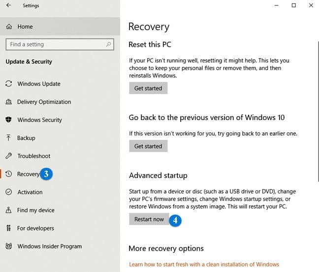 recover windows safe mode