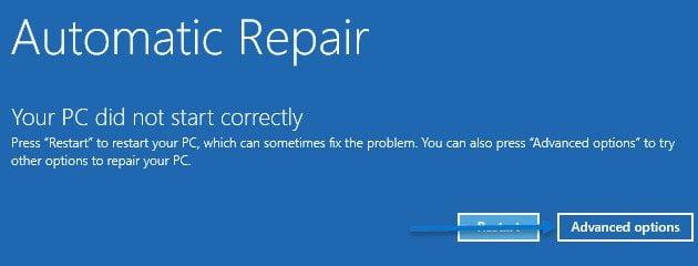 windows auto repair