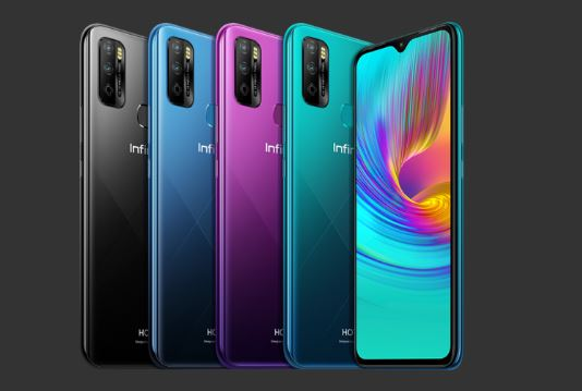 infinix hot 9 plau from colors