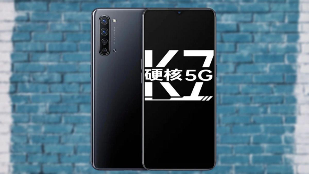Oppo k7 5G design