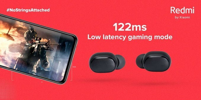Redmi earbuds s game mode