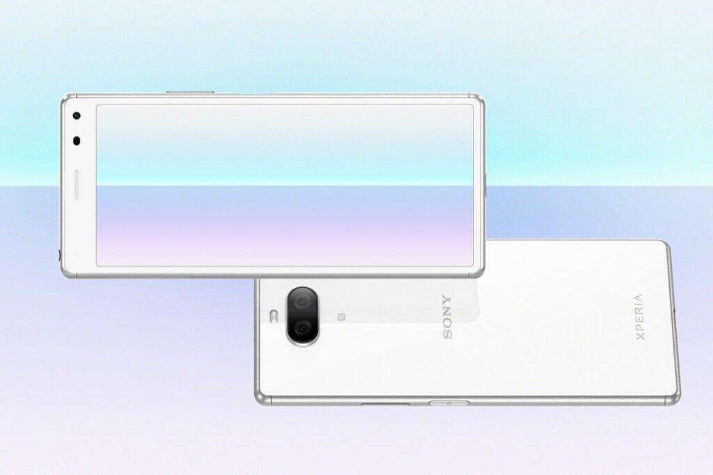 Sony Xperia 8 Lite design