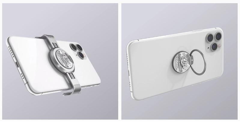 DJI Osmo Mobile 4 magnetic mount