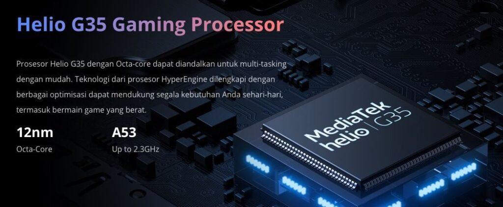 mediatek helio g35, mediatek gaming chipset