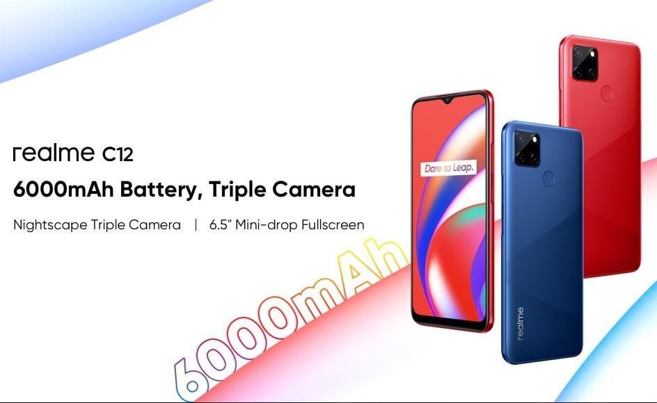realme c12 launched, realme c12 price