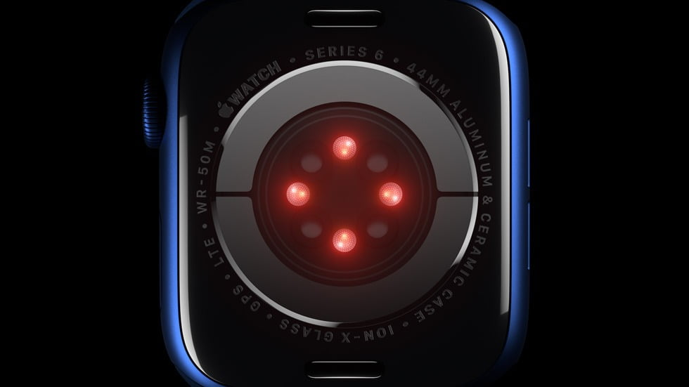 sensors by on S6 apple