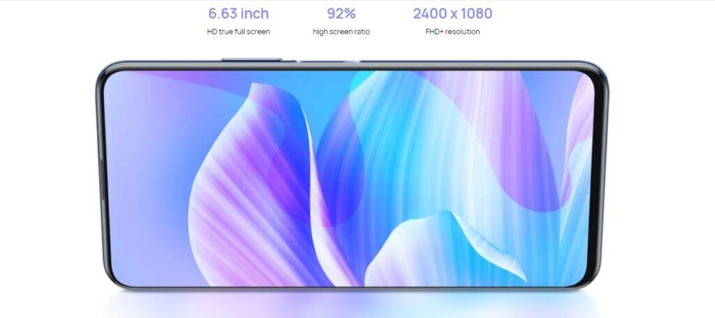 Huawei Enjoy 20 plus full screen
