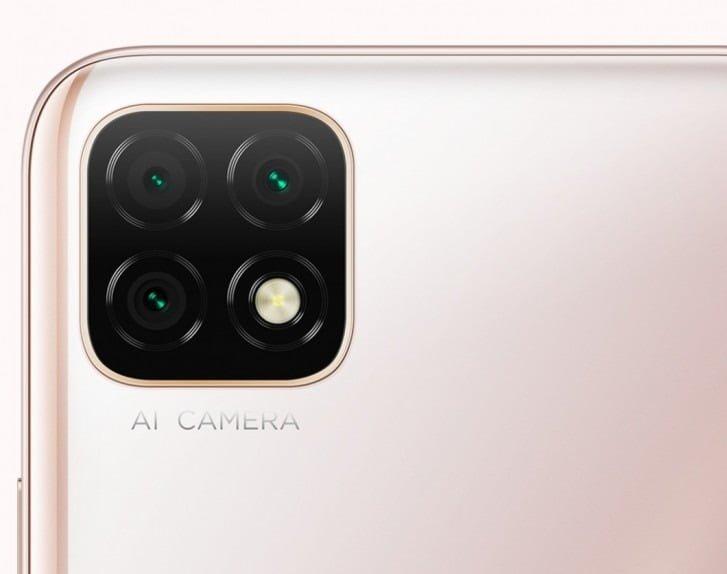 Huawei Enjoy 20 triple camera setup