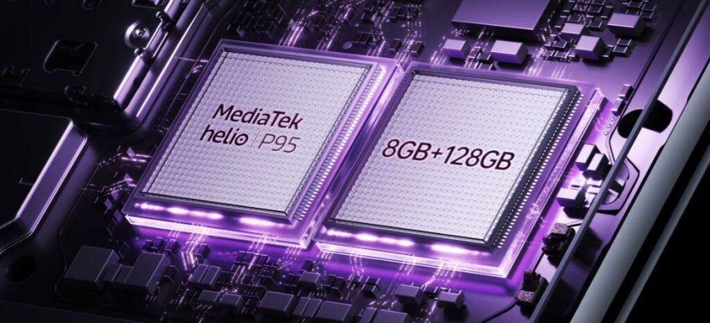 MediaTek Helio P95 used in Oppo F17 Pro