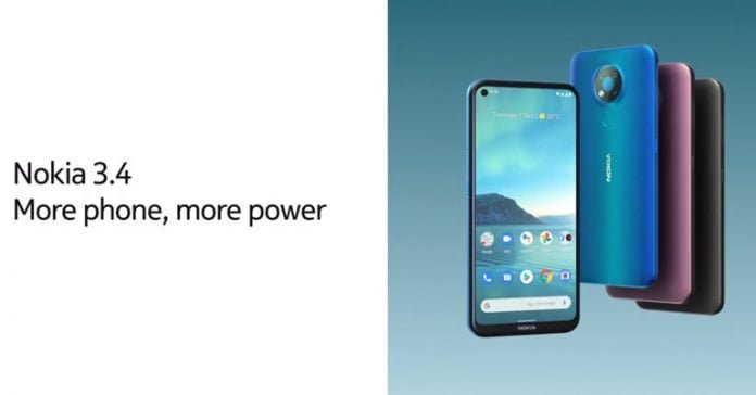 Nokia 3.4 price in NEpal