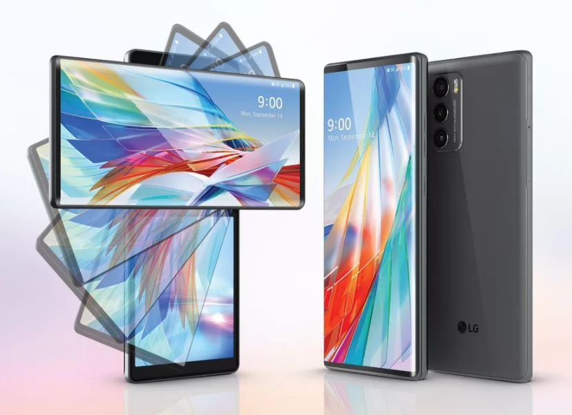 lg wing screen spin