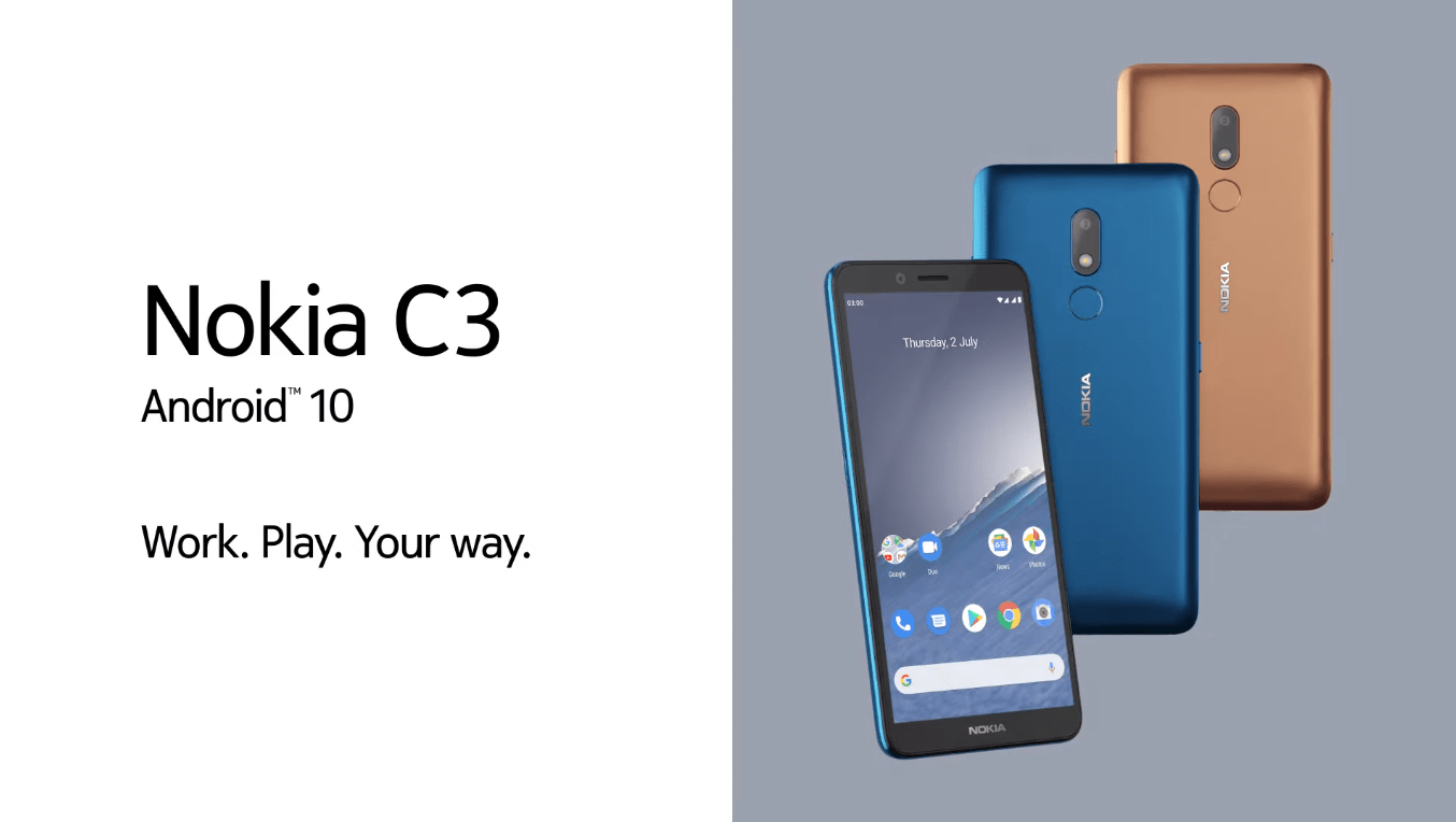nokia c3 launched in nepal