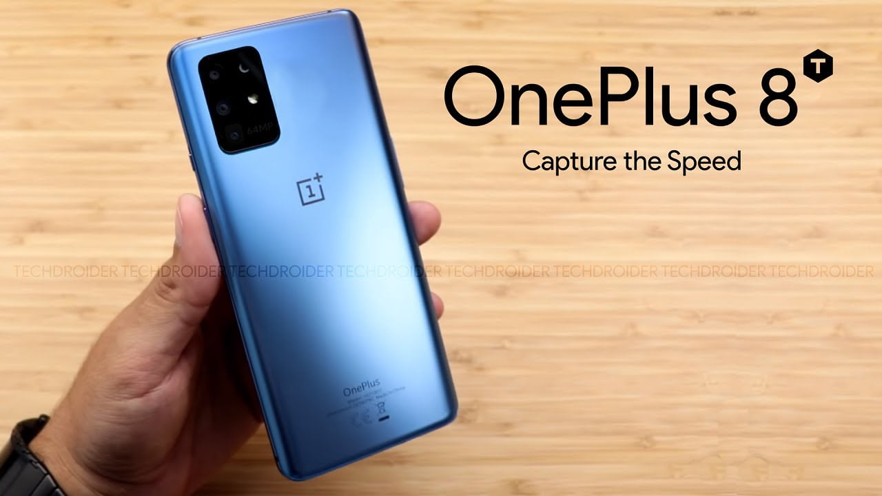 oneplus 8t launched