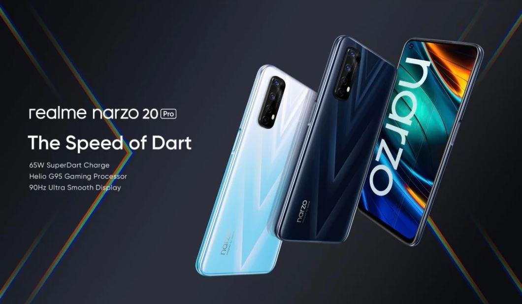 realme narzo 20 pro launched, realme narzo 20 pro price