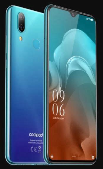 Coolpad N7 Plus display