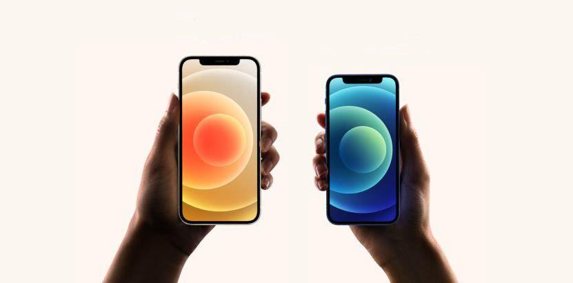 apple iphone 12 mini, apple iphone 12, apple iphone 12 and 12 mini compare
