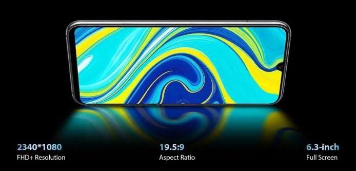 UMIDIGI A7 Pro display