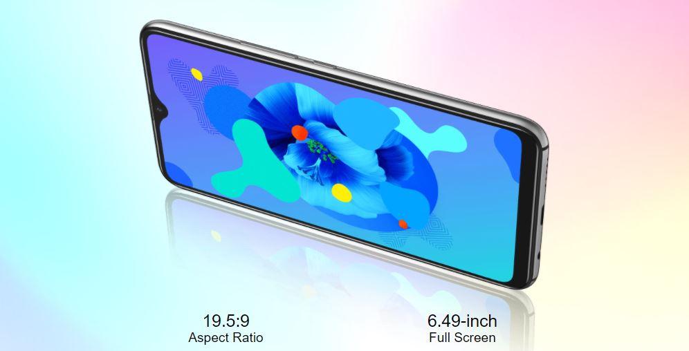UMIDIGI A7 camera display
