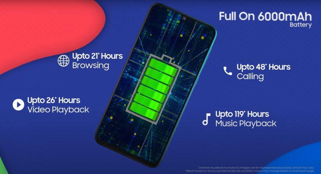 samsung galaxy f41 battery