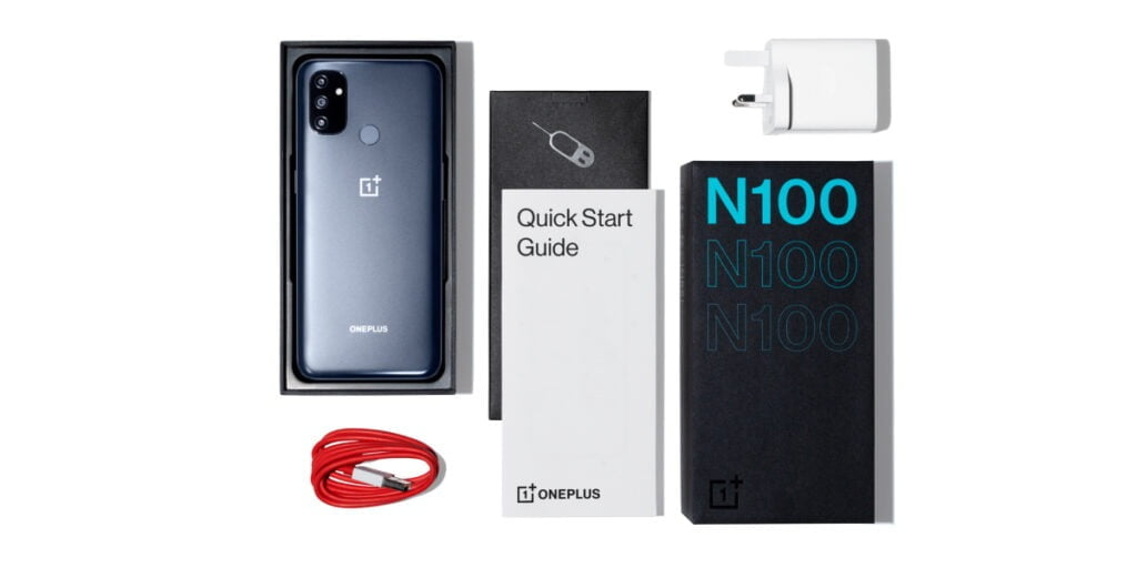 oneplus nord n100 in box, oneplus nord n100 launched