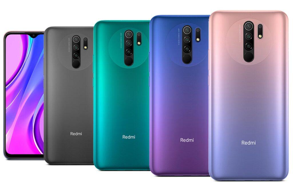 Xiaomi Redmi 9 prime colors