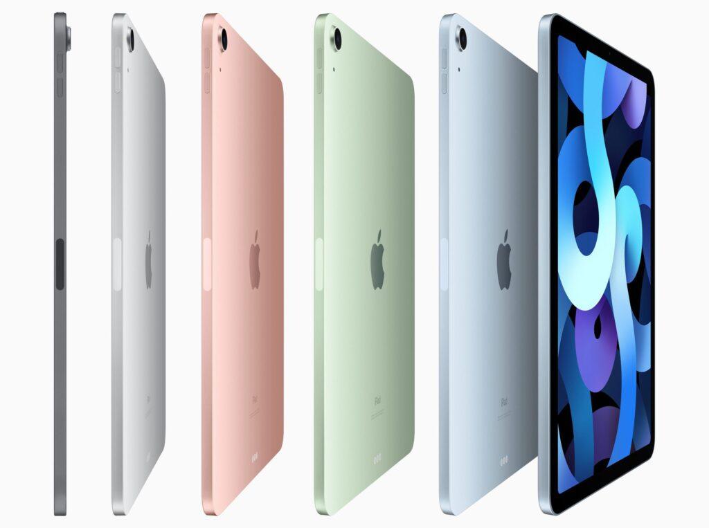 apple ipad air 2020 colors, apple ipad air 4 colors