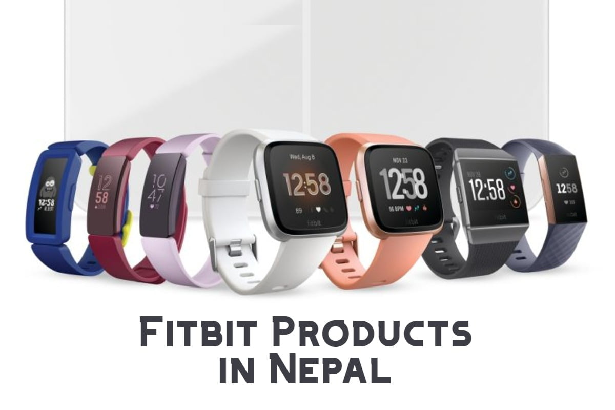 fitbit products in nepal, fitibit products price in nepal, fitbit daraz