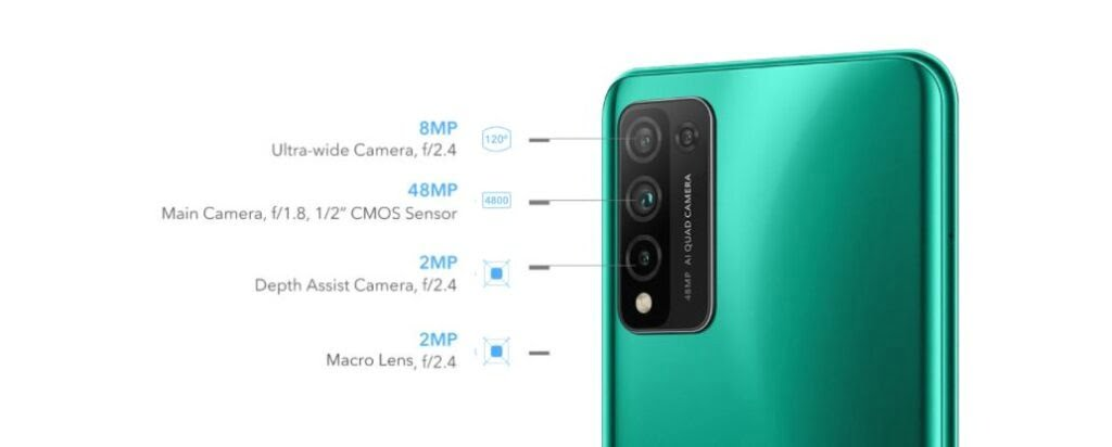 Honor 10X Lite camera
