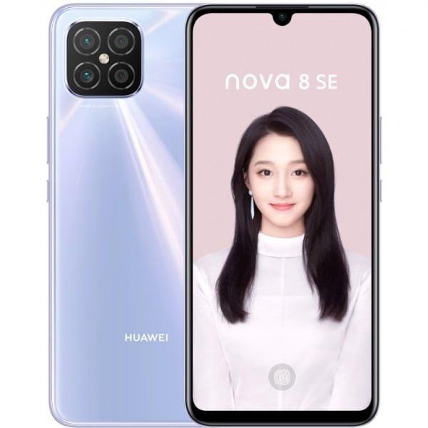 Huawei Nova 8 SE design