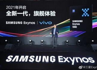 Samsung Exynos 1080 5G processor
