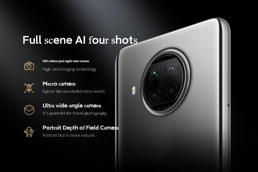 camera Xiaomi Redmi Not 9 Pro 5G