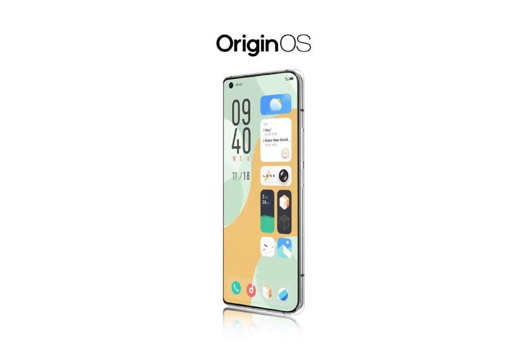 huarong grid, VIvo OriginsOS widgets