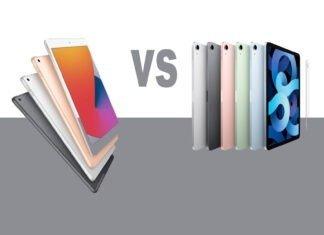 2020 iPad comparison