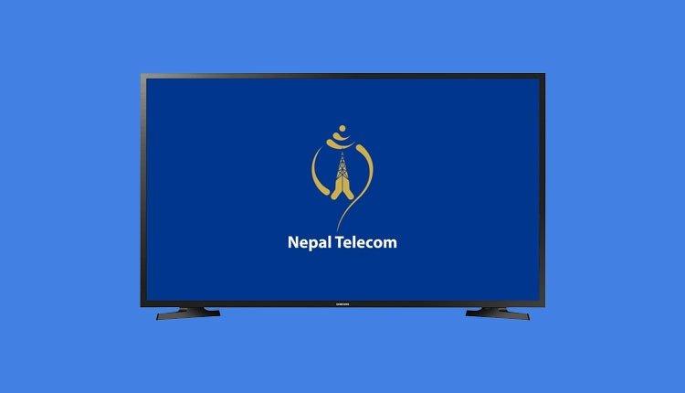 Nt ip tv, nepal telecom TV, nepal telecom dish tv. fiber to the home internet tv