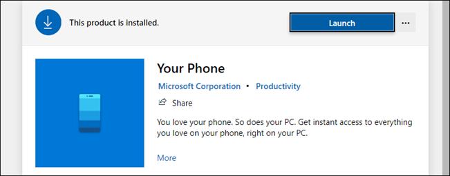 your phone app on windows, get notifications on windows
