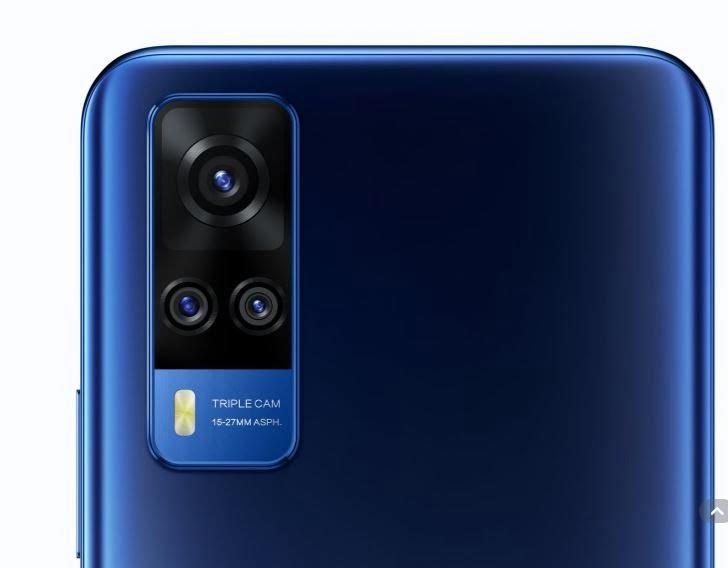 Vivo Y51 (December 2020) Camera