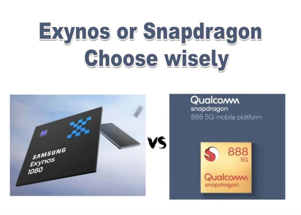 Chipset comparison Snapdragon 888 vs Exynos 1080, Snapdragon 888 compare with Exynos 1080