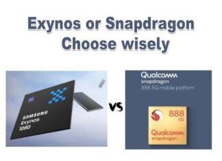 Snapdragon 888 vs Exynos 1080, Snapdragon 888 compare with Exynos 1080