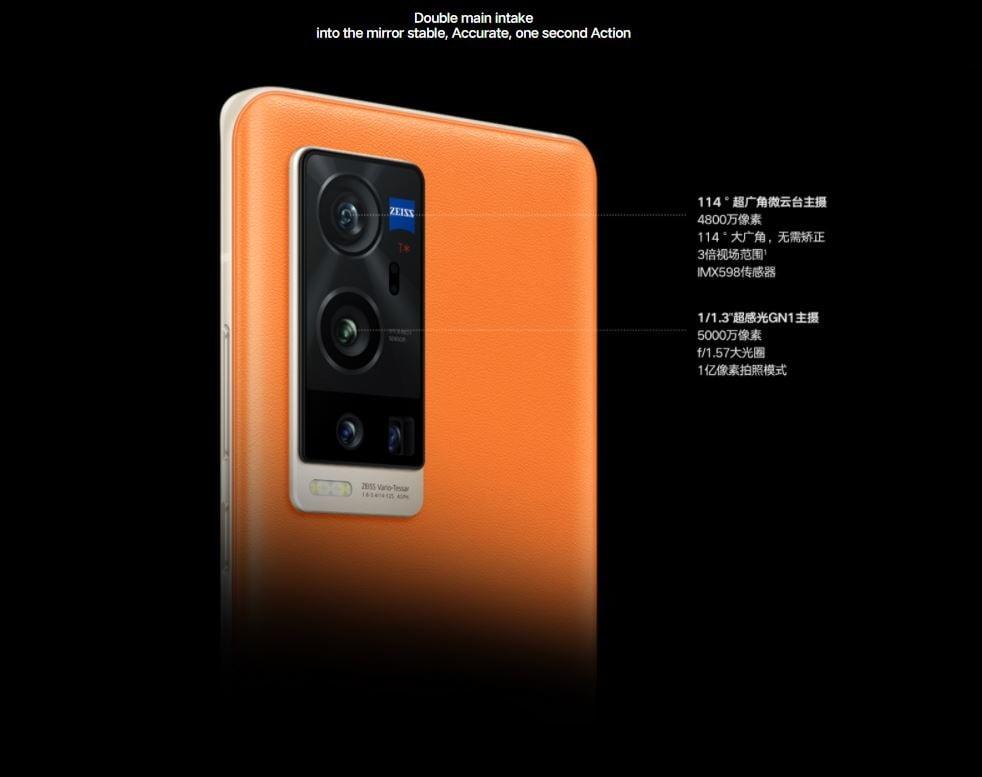 Vivo X60 Pro+ gimbal camera