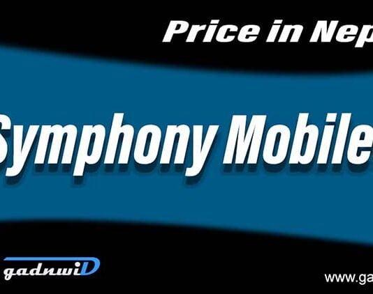 Symphony mobiles price in Nepal, Symphony Nepal, Symphony Mobiles Nepal